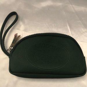 Lacoste green mini pouch🌟
